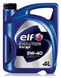 ELF EVOLUTION      5W40   4L NF -  ELF EXCELL 5/40.