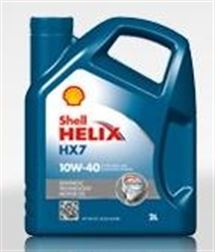 SHELL HELIX HX7 10W40  55L    PLUS -  SHELL 10/40 HX7.....